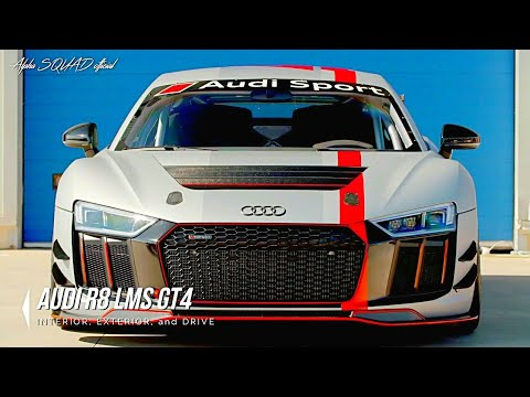 2018 Audi R8 Spyder, Coupe, and LMS GT4 – (interior, exterior, and drive)