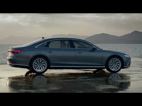 A brand-new Audi A8-2018