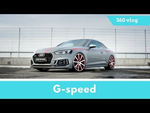 Amazing Test Drive,Audi RS5 from 450 to 525 HP and Renames it With an R,