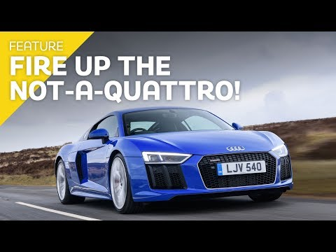 Audi R8 RWS: Why the rear-wheel drive R8 is the better R8