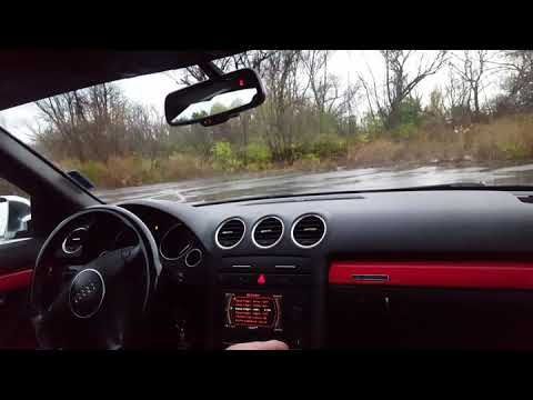 Donuts with all Wheels Drive Audi S4 quattro