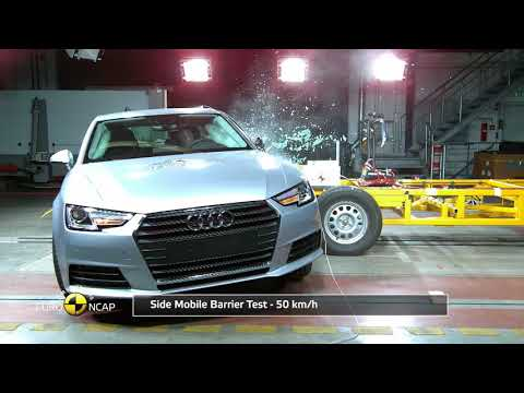 Euro NCAP Crash Test of Audi A4/A5