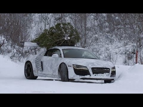 IF THERE IS SNOW , DRIVE AUDI QUATTRO !!! AUDI POWER ??