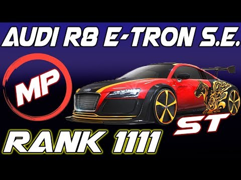 Multyplayer Test Audi R8 e-tron Special Edition RANK 1111 Single Tank