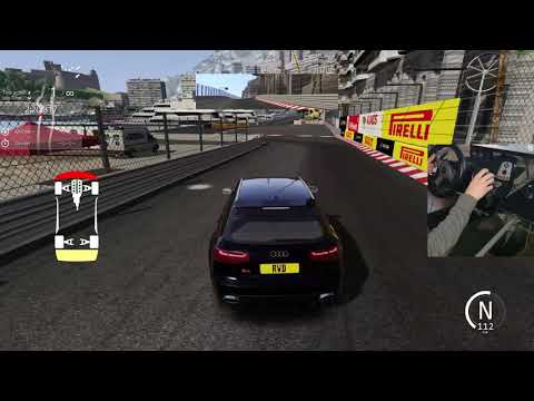 Test Audi RS6   / Monaco / Assetto Corsa