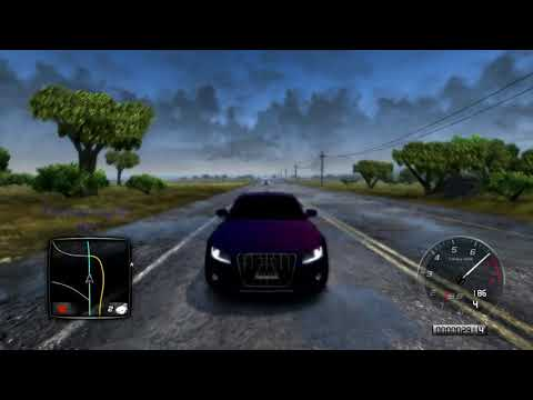 Test Drive Unlimited 2 Audi S5 Carbon 269kmh Run Rain Highspeed Run