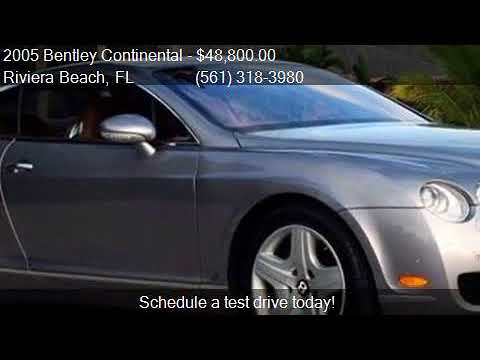2005 Bentley Continental GT Turbo AWD 2dr Coupe for sale in