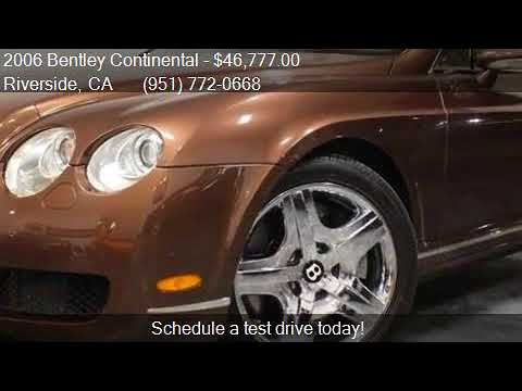 2006 Bentley Continental GT AWD 2dr Coupe for sale in Rivers