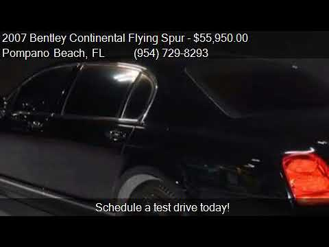 2007 Bentley Continental Flying Spur Base AWD 4dr Sedan for