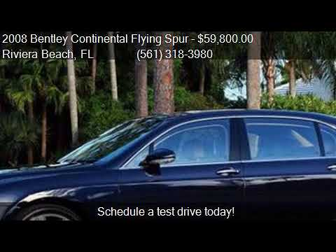 2008 Bentley Continental Flying Spur Base AWD 4dr Sedan for