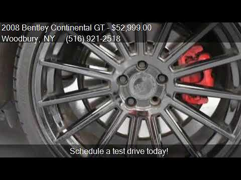 2008 Bentley Continental GT Base AWD 2dr Coupe for sale in W