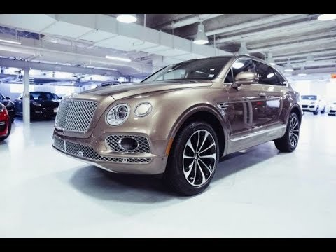 2018 Bentley Bentayga W12 Signature Edition AWD. The Most Luxurious SUV. Powerful Off-Road Performan