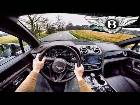 Bentley Bentayga POV Test Drive & Interior SOUND by AutoTopNL
