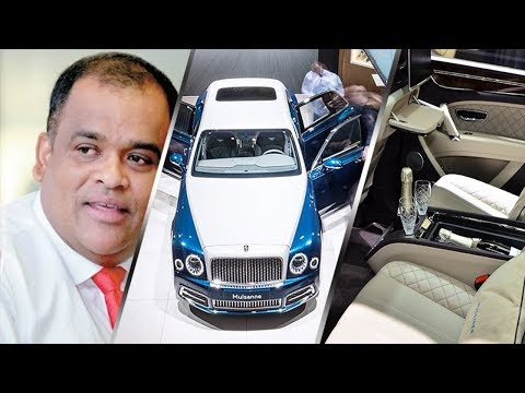 Dhammika Perera 's LKR 160 million Bentley Mulsanne Hallmark Car