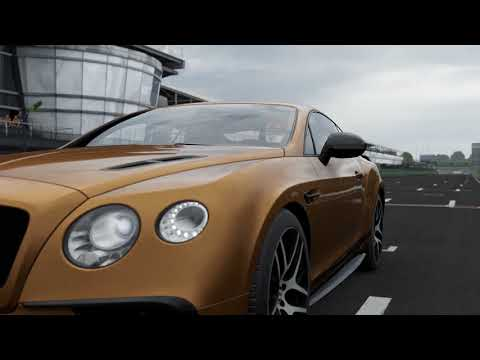FORZA Motorsport 7 - 2017 Bentley Continental Supersports - Car Show Speed Crash Test .