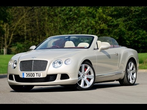 HJ Road Test: Bentley Continental GTC W12