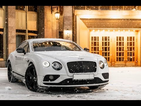 Тест-драйв Bentley Continental GT V8 S Black Edition 2017 за 15 млн
