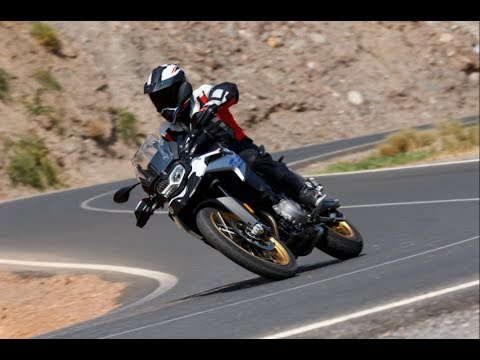 2018 Road Test BMW F850GS Powerful Riding