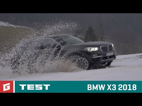 BMW X3 xDrive - TEST- SUV - GARAZ.TV