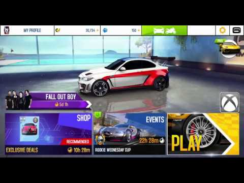 Fall Out Boy   New event in Asphalt 8 and Test BMW M2 Special Edition