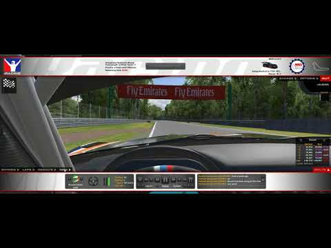 iRacing - Monza BES test - BMW - 42°C
