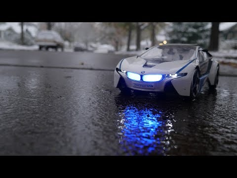 Luxury RC Car Winter Drive- BMW i8 VED