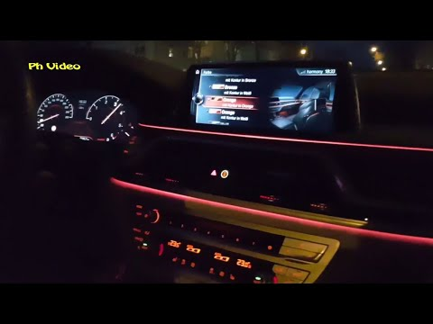 Nachtfahrt, night drive / BMW 730d xDrive 6 Zylinder 195kW 265PS 620 Nm - Sound - Ph_Video