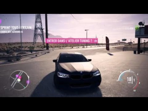 Need for Speed™ Payback pack Opening & test BMW M5 vitesse