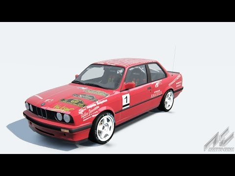 TEST BMW 325I E30 RALLY -MOD EN CONSTRUCION-