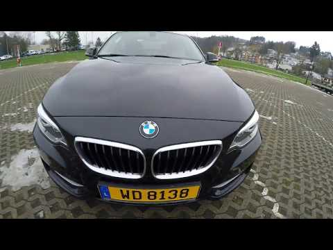 Test drive BMW 2 coupe 218d English