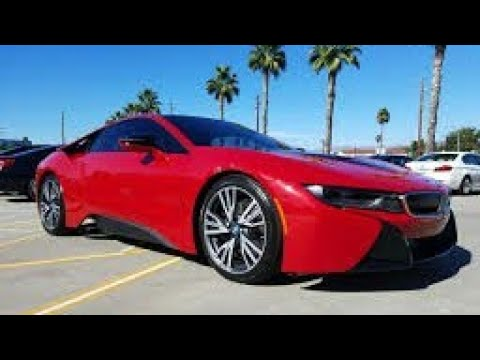 TEST-DRIVE BMW I8 PROTONIC RED |DRIVING SCHOOL 2017