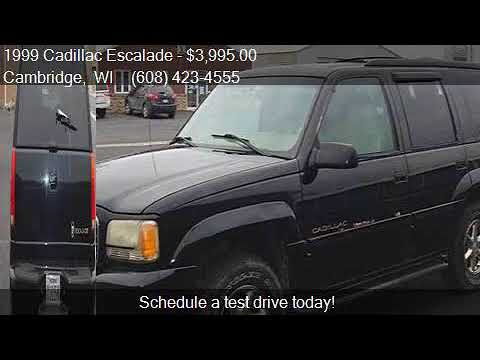 1999 Cadillac Escalade Base 4dr 4WD SUV for sale in Cambridg