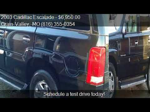 2003 Cadillac Escalade Base AWD 4dr SUV for sale in Grain Va