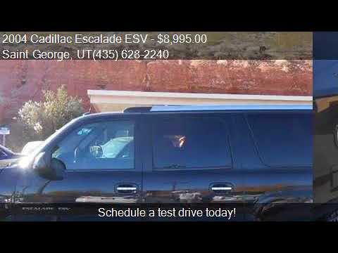 2004 Cadillac Escalade ESV Base AWD 4dr SUV for sale in Sain