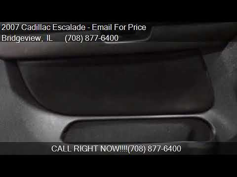 2007 Cadillac Escalade Base AWD 4dr SUV for sale in Bridgevi