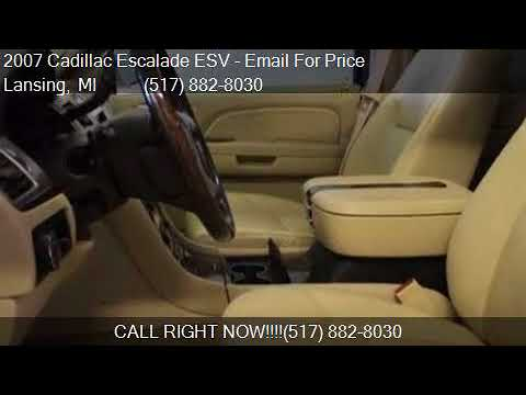 2007 Cadillac Escalade ESV Base AWD 4dr SUV for sale in Lans