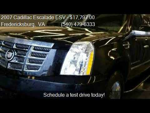 2007 Cadillac Escalade ESV Base AWD 4dr SUV for sale in Fred