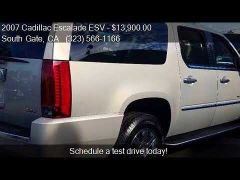 2007 Cadillac Escalade ESV Base AWD 4dr SUV for sale in Sout