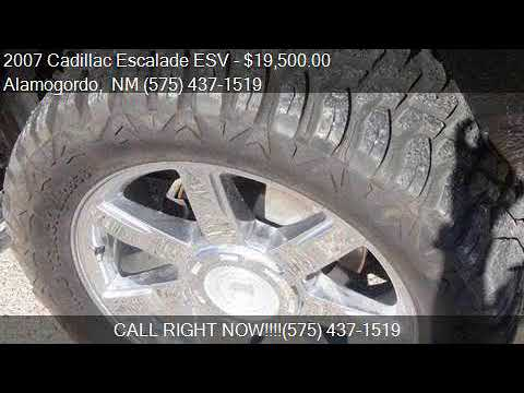 2007 Cadillac Escalade ESV Base AWD 4dr SUV for sale in Alam