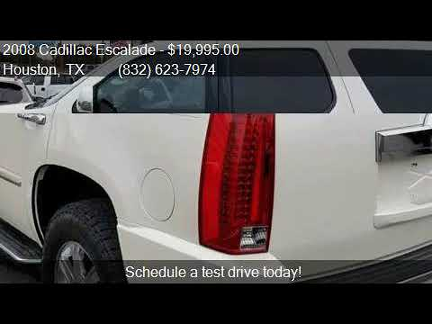 2008 Cadillac Escalade Base AWD 4dr SUV for sale in Houston,
