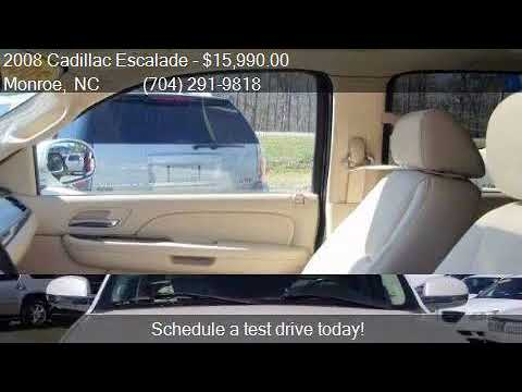 2008 Cadillac Escalade Base AWD 4dr SUV for sale in Monroe,