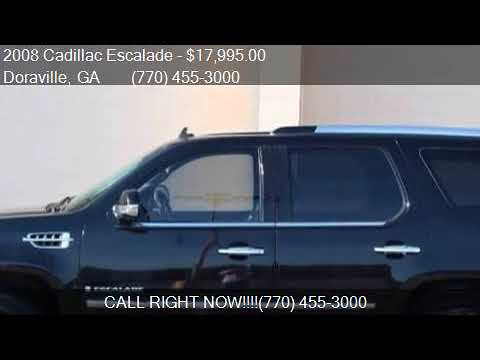 2008 Cadillac Escalade Base AWD 4dr SUV for sale in Doravill