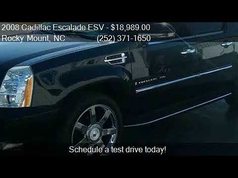 2008 Cadillac Escalade ESV Base AWD 4dr SUV for sale in Rock
