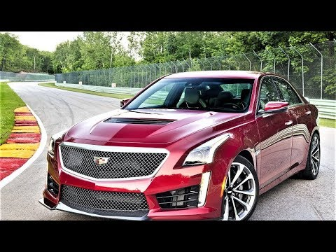 Watch Now!! 2018 Cadillac CTS V Test Drive