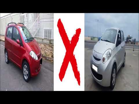 Comparativo: Chery Face 2012 1.3 VS Chery S18 2012 1.3