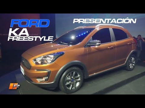 Ford Ka Freestyle 2018 Presentaci?n - Routiere - Pgm 458