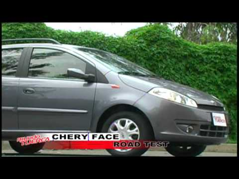 ROAD TEST CHERY FACE