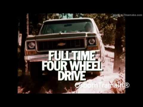 1973 Chevy Blazer Commercial