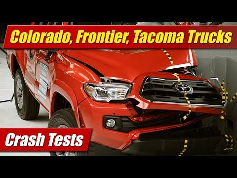 Crash Test: Chevrolet Colorado, Nissan Frontier, Toyota Tacoma