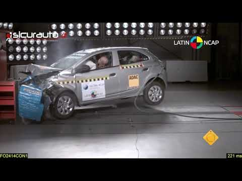 Crash test chevrolet onix